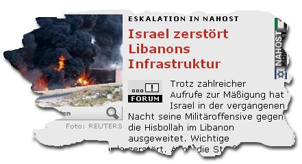 Krieg-Israel-Libanon