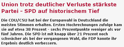 SPD auf historischem Tief?