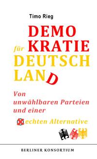 Neuerscheinung: Demokratie für Deutschland