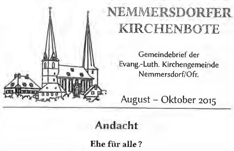 nemmersdorfer-kirchenbote-ehe-fuer-alle-pfarrer-weigel-cover